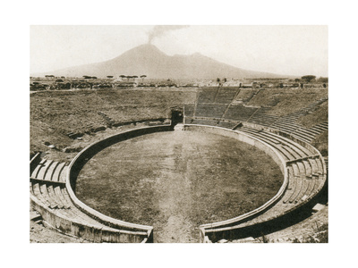 Anfiteatro, Pompeii, Italy, C1900s Giclee Print