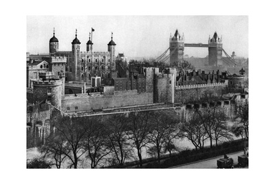 The Tower of London, 1926-1927 Giclee Print by  McLeish