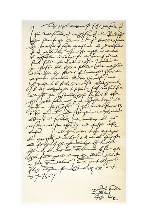 Letter from John Knox to Sir Nicholas Throgmorton, 6th August 1561 Giclee Print by John Knox