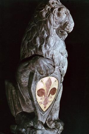 Heraldic Lion, 1420 Photographic Print by  Donatello