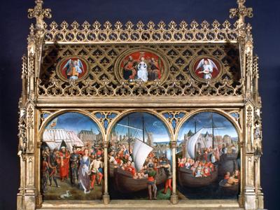 St Ursula Shrine, 1489 Photographic Print by Hans Memling