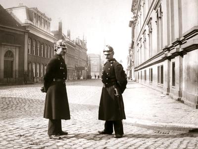 Policemen, Rotterdam, 1898 Photographic Print by James Batkin