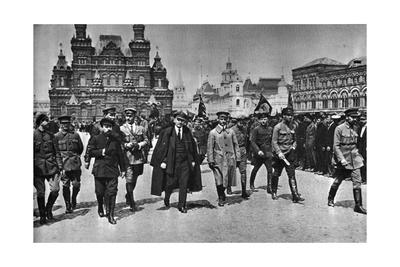Vladimir Ilich Lenin, Russian Bolshevik Leader, Moscow, Russia, 25 May 1919 Giclee Print