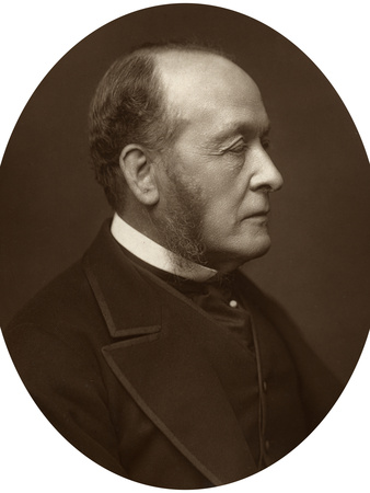 Gathorne Hardy, 1st Viscount Cranbrook, Politician and Statesman, 1881 Photographic Print
