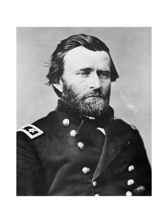 General Ulysses S Grant, American Soldier and Politician, C1860s Giclee Print by MATHEW B BRADY