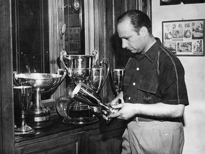 Juan Manuel Fangio, C1950 Photographic Print
