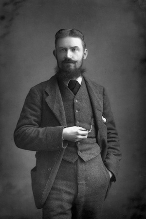 George Bernard Shaw (1856-195) Irish Dramatist, Critic and Fabian, 1893 Photographic Print by W&d Downey