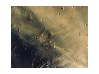 View of Mars, August 1976 Giclee Print!