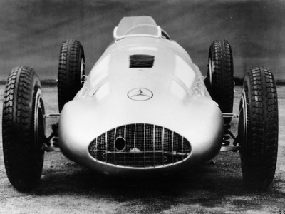 1939 Mercedes 1.5 Lite Racing Car, (C1939) Photographic Print
