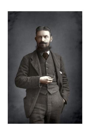 George Bernard Shaw, Irish Dramatist, Critic and Fabian, 1893 Giclee Print by W&d Downey