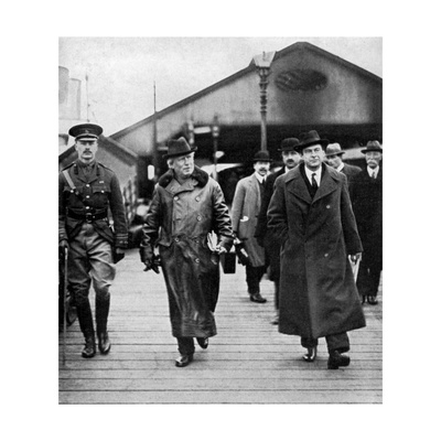 British Prime Minister Herbert Asquith Visiting Ireland, 1914 Giclee Print