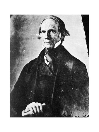 Henry Clay, American Statesman, 1850 Giclee Print by MATHEW B BRADY