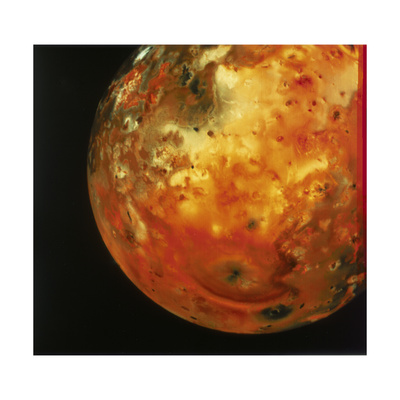 Nearly Full View of Io, One of the Moons of Jupiter, 1979 Giclee Print
