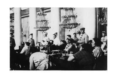 Trial of Leaders of the Socialist-Revolutionary Party, Moscow, Russia, August 1922 Giclee Print