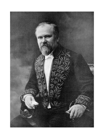 Raymond Poincare, French Politician, 1909 Giclee Print