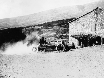 A Rolland-Pilain During the Mont Ventoux Hill Climb, Provence, France, 1909 Photographic Print