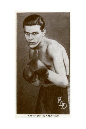 Arthur Danahar, British Boxer, 1938 Giclee Print