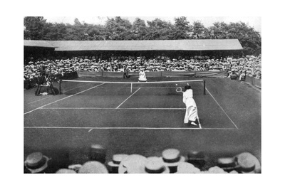 A Women's Final at the Old Wimbledon, 1905 Giclee Print