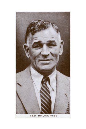 Ted Broadribb, British Boxer and Manager, 1938 Giclee Print