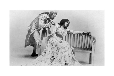 Julia Neilson and Fred Terry in the Scarlet Pimpernel, C1905 Giclee Print by  Ellis & Walery