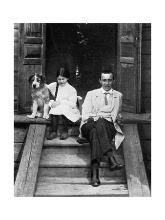 Sergei Rachmaninov, Russian Composer, Pianist and Conductor, Ivanovka, Russia, 1913 Giclee Print