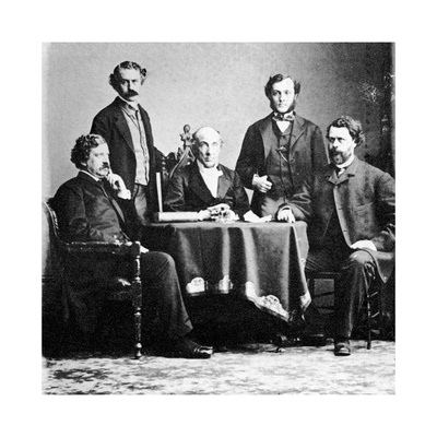 The Board of New York Police Commissioners, C1860 Giclee Print by MATHEW B BRADY