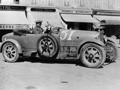 Bugatti Type 43, Nice, France, Late 1920s Photographic Print
