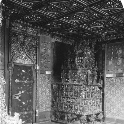 The Furnace in the Prince's Chamber, Festung Hohensalzburg, Salzburg, Austria, C1900s Photographic Print by  Wurthle & Sons