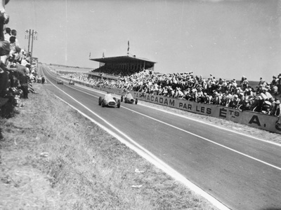 Marne Grand Prix, Rheims, France, 1952 Photographic Print!