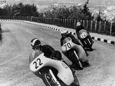 Isle of Man Senior Tt Race, 1958 Photographic Print