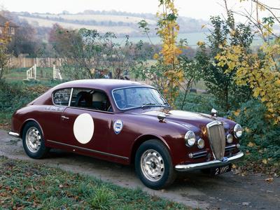 1953 Lancia Aurelia Photographic Print