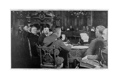 Representatives of the Allied Governments, Paris, World War I, 27-29 March 1916 Giclee Print