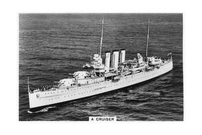 Heavy Cruiser HMS Devonshire, 1937 Giclee Print