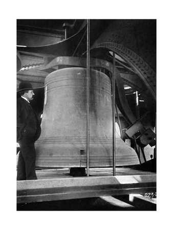 Bell in the Tower of Big Ben, Palace of Westminster, London, C1905 Giclee Print