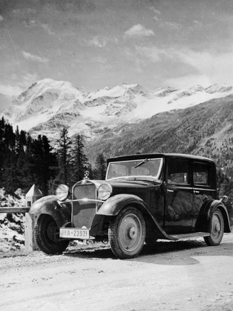 1932 Mercedes-Benz 6 Cylinder Type 170, (C1932) Photographic Print