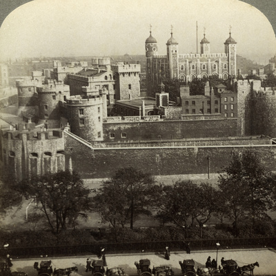 Tower of London, C Late 19th Century Photographic Print by  Underwood & Underwood