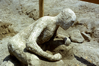 Person Killed by the Pompeii Eruption, 79 Ad Photographic Print