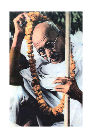 Mohondas Karamchand Gandhi (1869-194), Indian Nationalist Leader Giclee Print