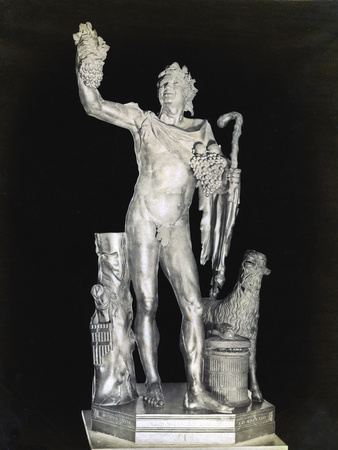 The Laughing Faun, 2nd Century Bc Photographic Print