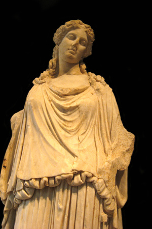 Eirene, the Godess of Peace (Roman Copy from a Greek Origina), 1st H. 1st C Ad Photographic Print