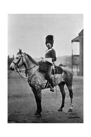 Sergeant Major G Duncan, Regimental Sergeant-Major of the Scots Greys, 1896 Giclee Print by  Gregory & Co