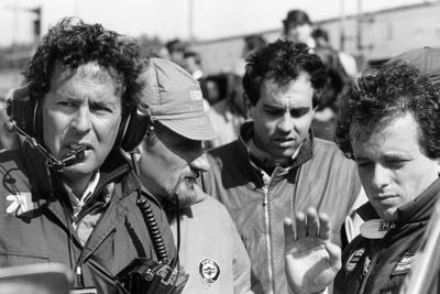 Cesare Fiorio and Mauro Baldi, 1984 Photographic Print