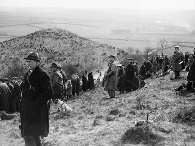 Kop Hill Climb, Princes Risborough, Buckinghamshire, 25th March 1922 Photographic Print