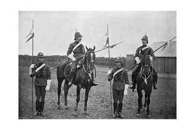 Troopers of the South Australian Cavalry, 1896 Giclee Print by  Gregory & Co