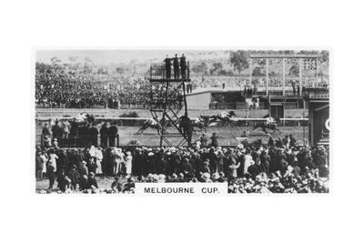 Melbourne Cup, Australia, 1928 Giclee Print