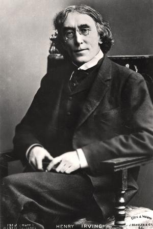 Harry Brodribb Irving (1870-191), English Actor, 1905 Photographic Print by  Ellis & Walery