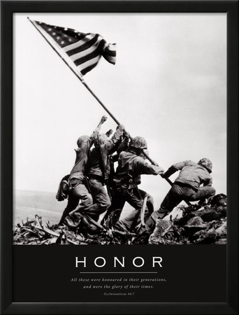 Honor: Iwo Jima Print