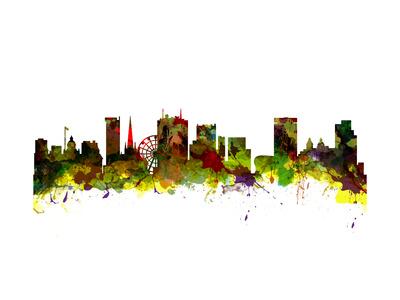Birmingham UK City Skyline Prints by  chris2766