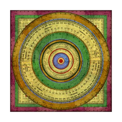 Measurement Tiles I Print by James Burghardt