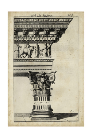 Ancient Architecture V Prints by John Evelyn